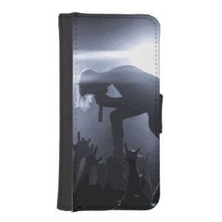 Schreeuw het uit! iPhone 5 portemonnee hoesje