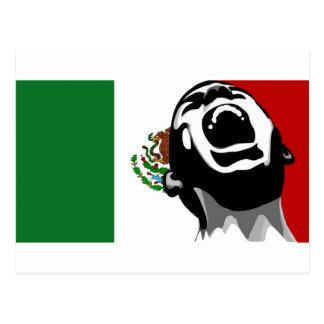 Schreeuw voor Mexico Briefkaart