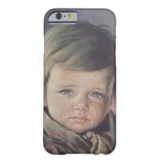 schreeuwend jongenshoesje barely there iPhone 6 hoesje
