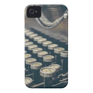 Schrijfmachine iPhone 4 Hoesje
