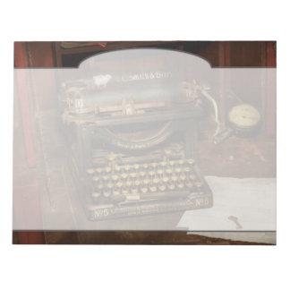 Schrijfmachine - Mijn werkgeverskantoor Kladblok