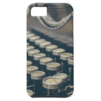 Schrijfmachine Tough iPhone 5 Hoesje