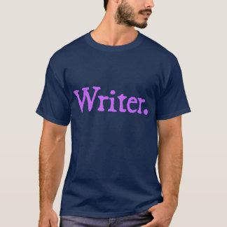 Schrijver (lavendel die van letters voorzien) t shirt