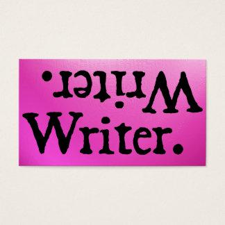 Schrijver. .retirW Visitekaartjes