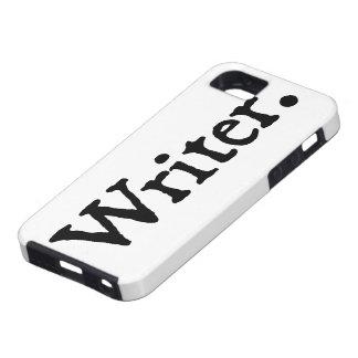 Schrijver Tough iPhone 5 Hoesje