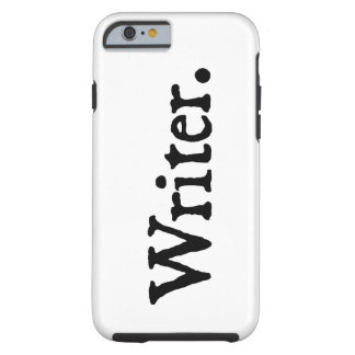 Schrijver Tough iPhone 6 Hoesje