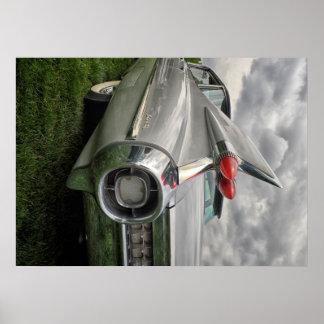 Schrijver uit de klassieke oudheid 1959 Cadillac Poster