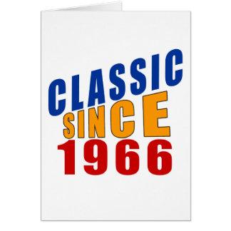 Schrijver uit de klassieke oudheid sinds 1966 wenskaart