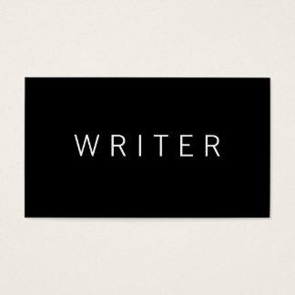 Schrijver Visitekaartjes