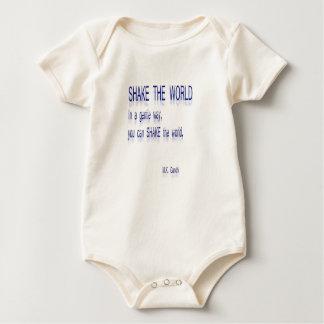 SCHUD de Wereld - op een zachte manier Baby Shirt