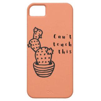 Schuin de Cactus van de Aanraking af Barely There iPhone 5 Hoesje