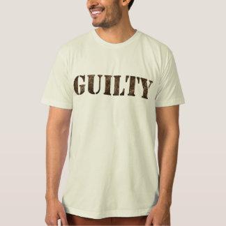 SCHULDIGE T-shirt met vingerafdrukontwerp
