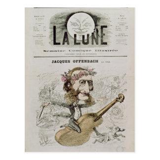 Schutblad van 'La Lune Briefkaart