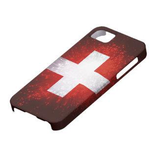 Schweiz; De Vlag van Zwitserland Barely There iPhone 5 Hoesje