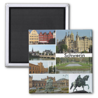 Schwerin Vierkante Magneet