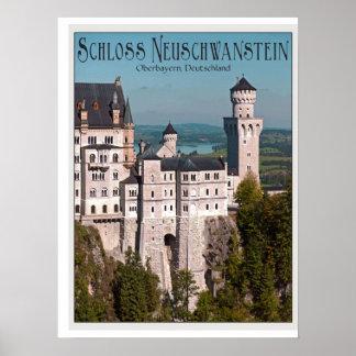 Scloss Neuschwanstein Poster