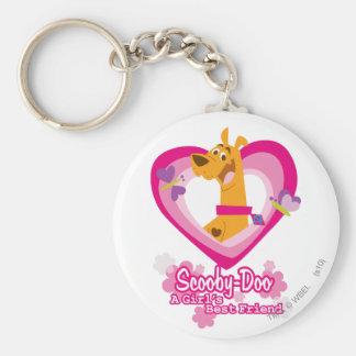 Scooby Doo een Beste Vriend van Meisjes Sleutelhanger