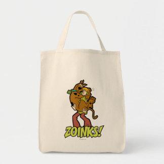 Scooby-Doo en Ruwharige Zoinks! Boodschappen Draagtas