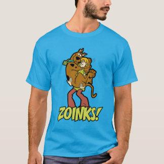 Scooby-Doo en Ruwharige Zoinks! T Shirt