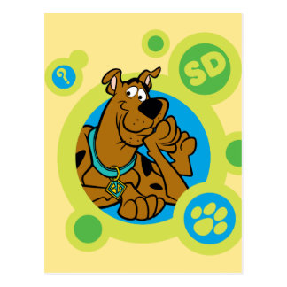 Scooby-Doo het Kenteken van Cirkels BR Briefkaart