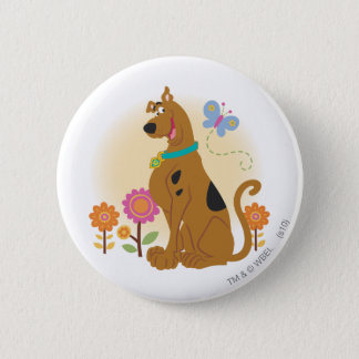 Scooby Doo na Butterfly1 Ronde Button 5,7 Cm