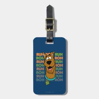 Scooby-Doo Ruh Roh Bagagelabel