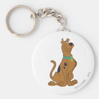Scooby Doo   Schrijver uit de klassieke oudheid Basic Ronde Button Sleutelhanger