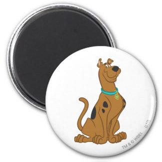 Scooby Doo   Schrijver uit de klassieke oudheid Ronde Magneet 5,7 Cm