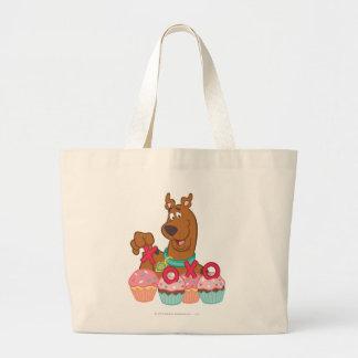 Scooby Doo - Scooby XOXO Cupcakes Jumbo Draagtas