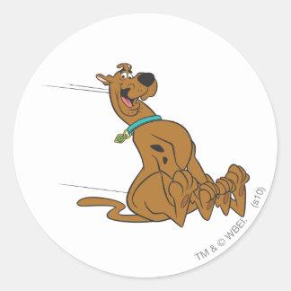 Scooby Doo stelt 101 Ronde Sticker