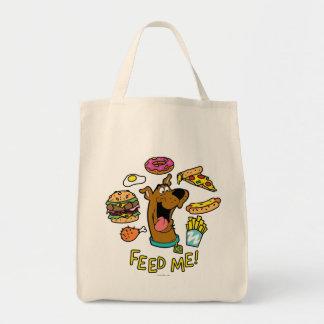 Scooby-Doo voedt me! Draagtas