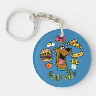 Scooby-Doo voedt me! Sleutelhanger