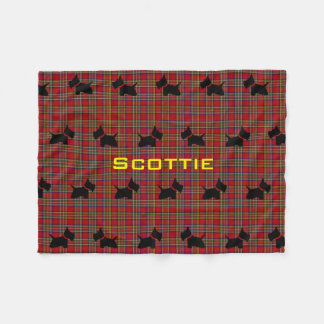 Scottie Nr 8 Fleece Deken