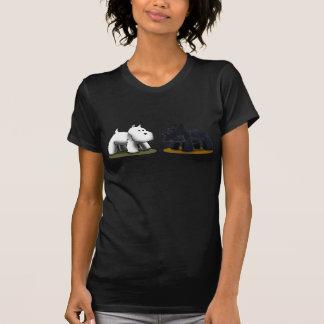 Scottie & T-shirt Westie