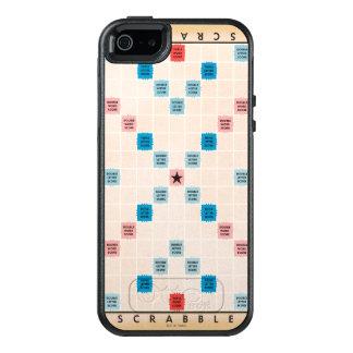 Scrabble Vintage Gameboard OtterBox iPhone 5/5s/SE Hoesje