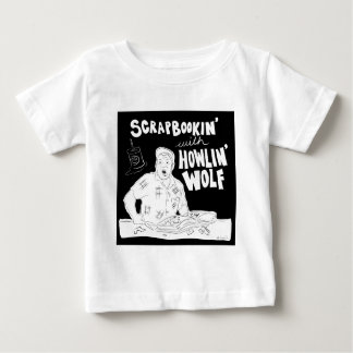 Scrabookin met Wolf Howlin Baby T Shirts