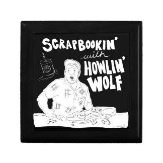 Scrabookin met Wolf Howlin Decoratiedoosje