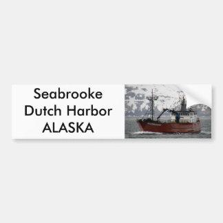 Seabrooke, de Boot van de Krab in Nederlandse Have Bumpersticker