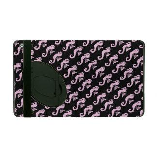 seahorse roze iPad hoesje