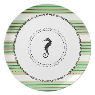 SEAHORSE_Yacht-Decking-Green-Water's-Striped_Chain Melamine+bord