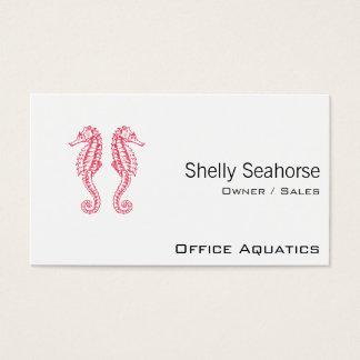 Seahorses Visitekaartjes