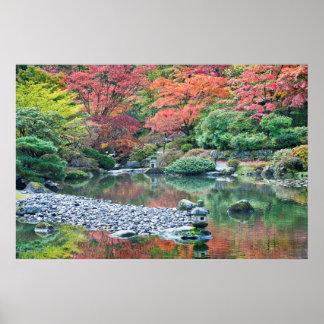 Seattle, de Japanse Tuin van het Arboretum Poster