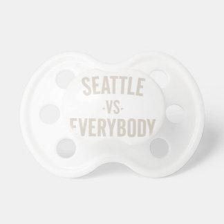 Seattle versus iedereen baby speentje
