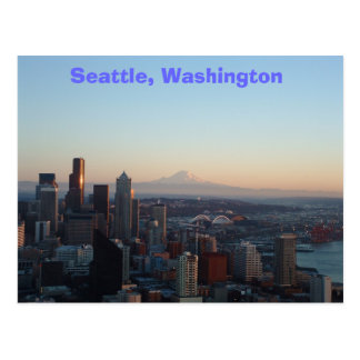 Seattle, Washington Briefkaart