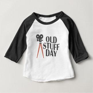 Seco Maart - de Oude Dag van het Materiaal Baby T Shirts