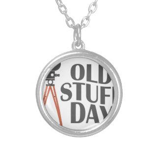Seco Maart - de Oude Dag van het Materiaal Zilver Vergulden Ketting