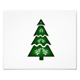 Sectioneel de vraagornament 2.png van de kerstboom fotografische afdruk