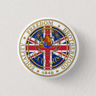 secularism united kandom ronde button 3,2 cm