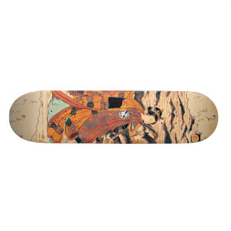 Segawa Kikunjojo 18,1 Cm Old School Skateboard Deck