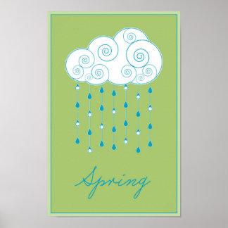 Seizoenen: Het Poster van de lente